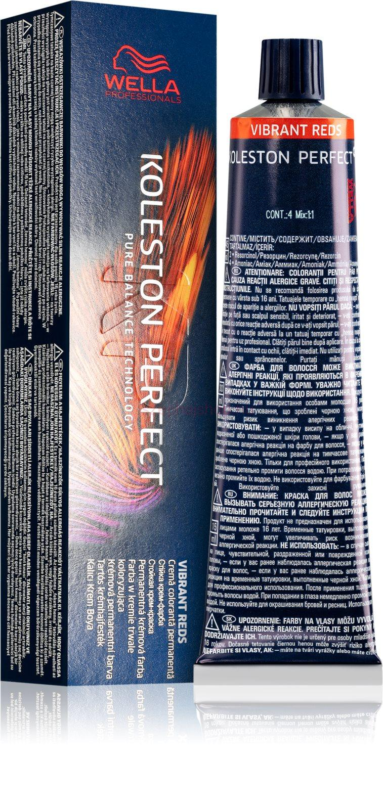 Wella Professionals Koleston Perfect ME+ Vibrant Reds hajfesték 33/66 60 ml