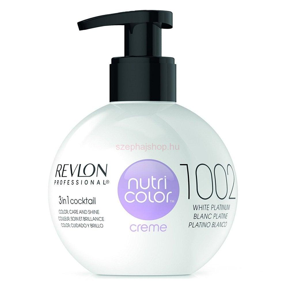 Revlon Nutri Color Creme 1002 White Platinum 270 ml