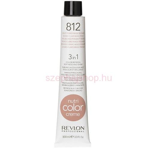 Nutri Color Creme 812 Light Pearly Beige 100 ml