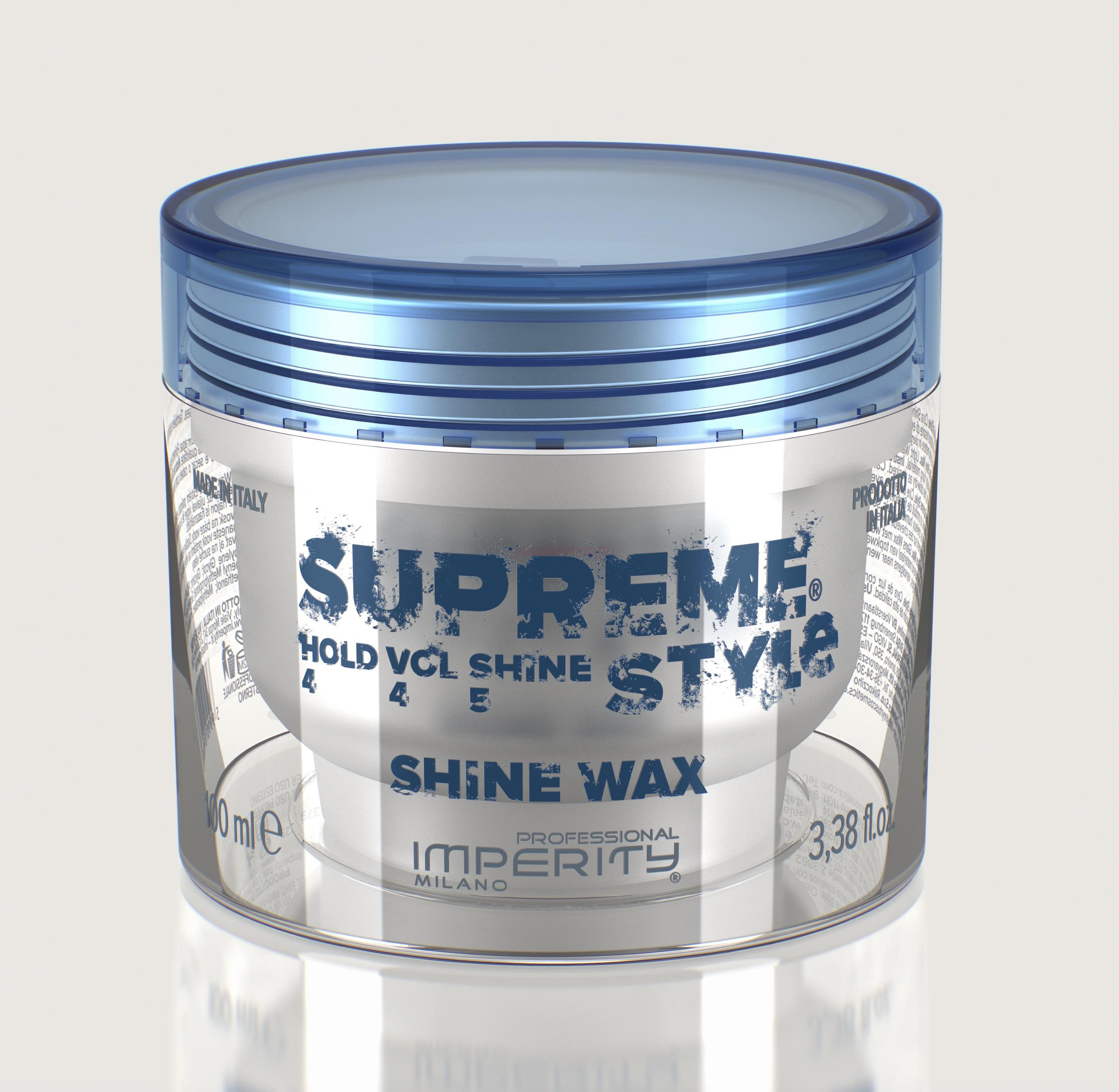 IMPERITY Supreme Style Shine Wax 100 ml