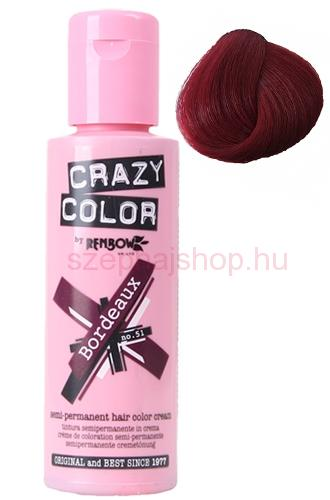 Crazy Color 51 Bordeaux 100 ml (Bordeaux)