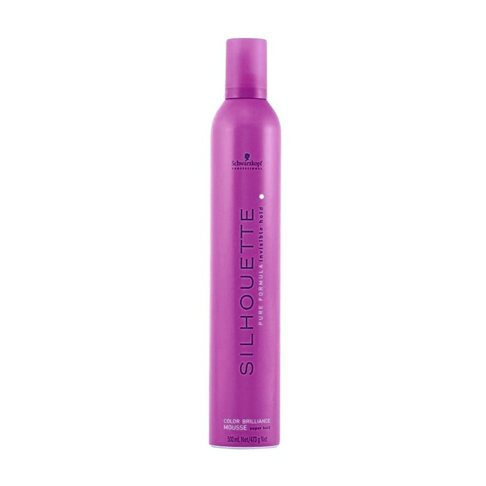 Schwarzkopf Professional Silhouette Color Brilliance szupererős hajhab 500 ml
