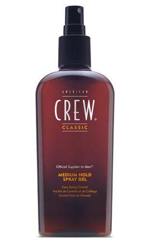 American Crew Medium Hold Spray Gel - közepes tartású spraygel 250 ml