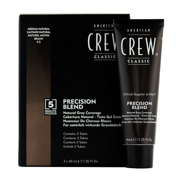 American Crew Precision Blend Medium - közepes 4-5 (3 X 40 ml)