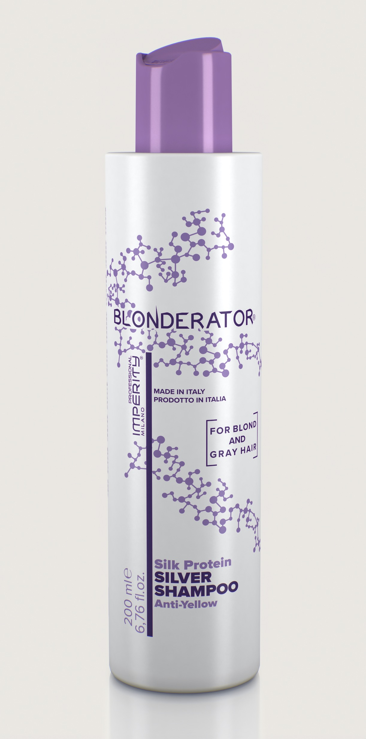 IMPERITY Blonderator Silver Shampoo - Ezüst sampon 200 ml