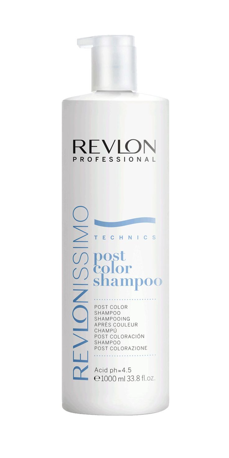 REVLON Revlonissimo Post Color Shampoo 1000 ml