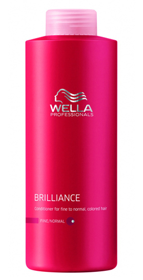Wella Brilliance Conditioner Fine 1000 ml