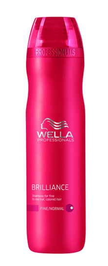 Wella Brilliance Shampoo Fine 250 ml