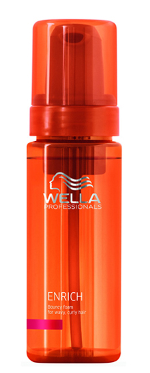 Wella Enrich Bouncy Foam - Ápoló hab 150 ml