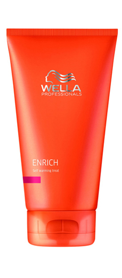 Wella Enrich Self Warming Treatment - Meleg maszk 150 ml