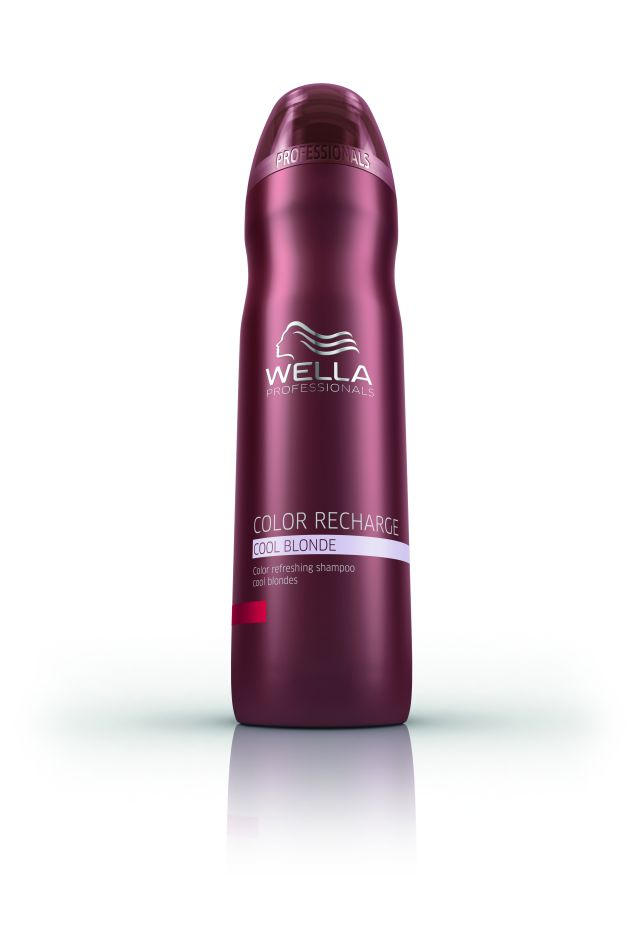 Wella Color Recharge Cool Blonde Shampoo - Színfelfrissítő sampon 250 ml
