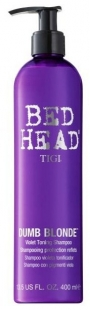 Tigi Bed Head Dumb Blonde Purple Shampoo 400 ml