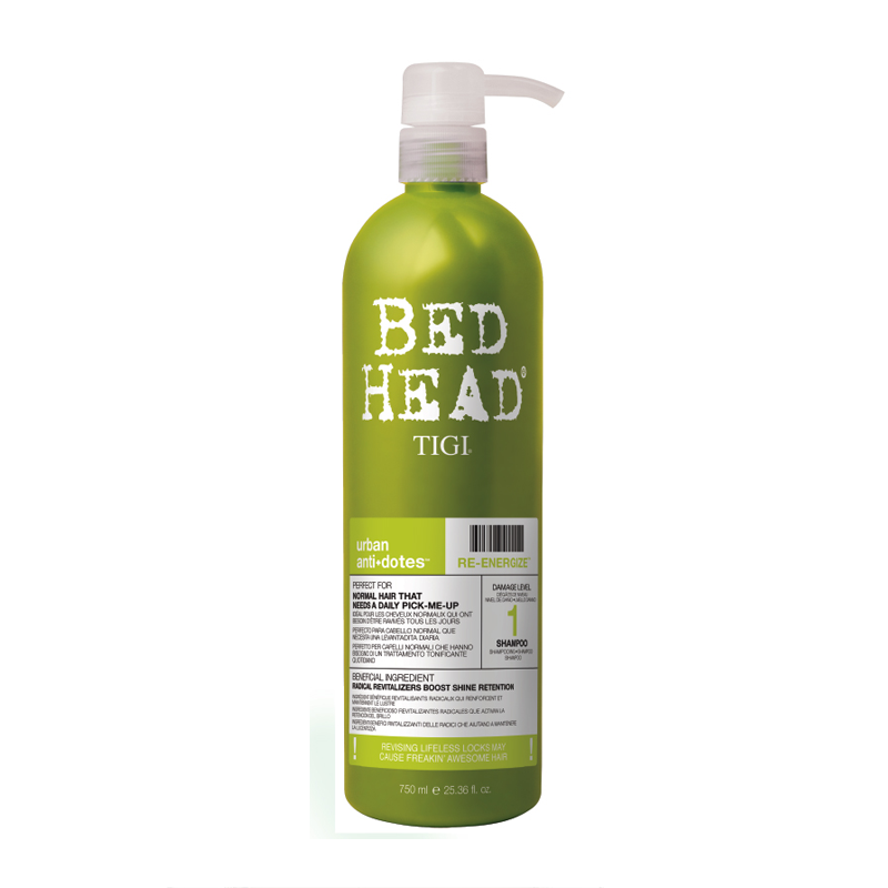 Tigi Bed Head Urban Antidotes Re-Energizer Shampoo 750 ml