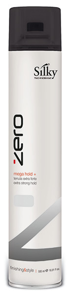 Silky ZERO Cult Hair Spray Mega Strong Hold - Mega erős hajlakk 500 ml