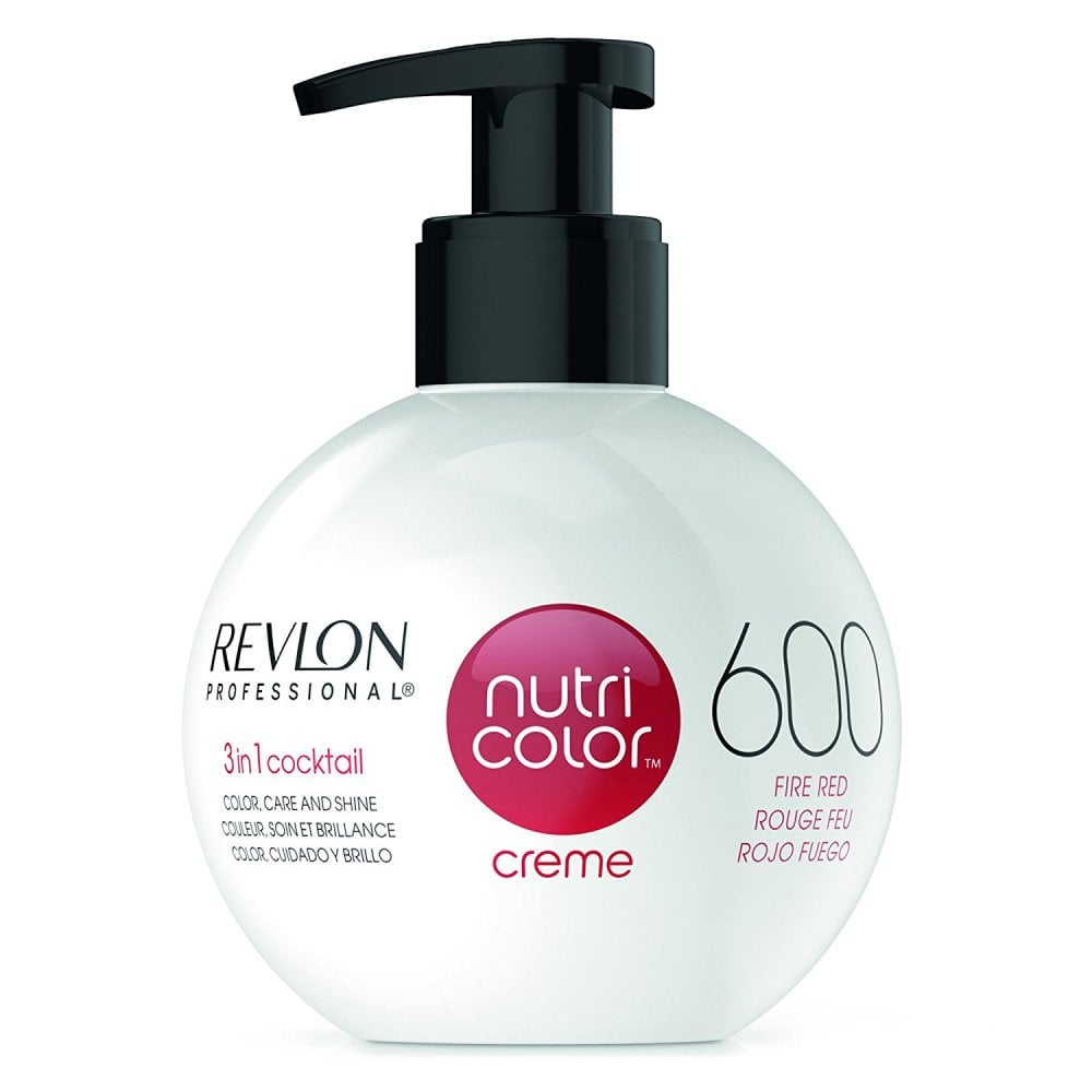 Nutri Color Creme 600 Fire Red 270 ml