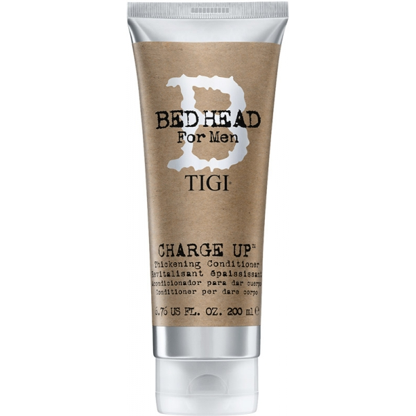 TIGI Bed Head for Men Charge Up kondícionáló vékony szállú ritka hajra 200 ml