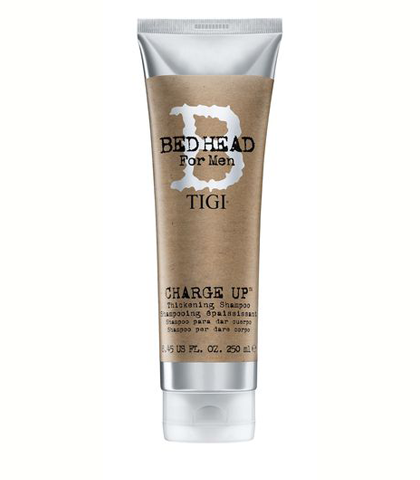 TIGI Bed Head for Men Charge Up sampon vékony szállú ritka hajhoz 250 ml