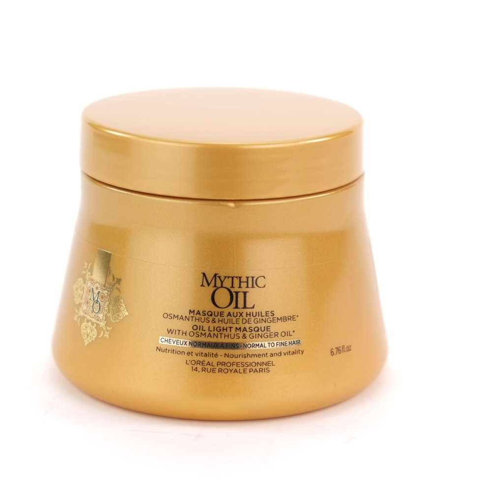 L'ORÉAL Mythic Oil Mask Normal To Fine Hair 200 ml