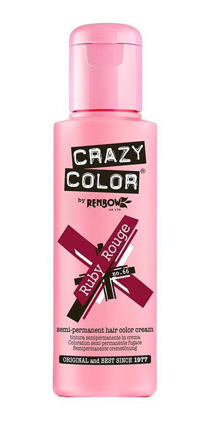 Crazy Color 66 Ruby Rouge 100 ml