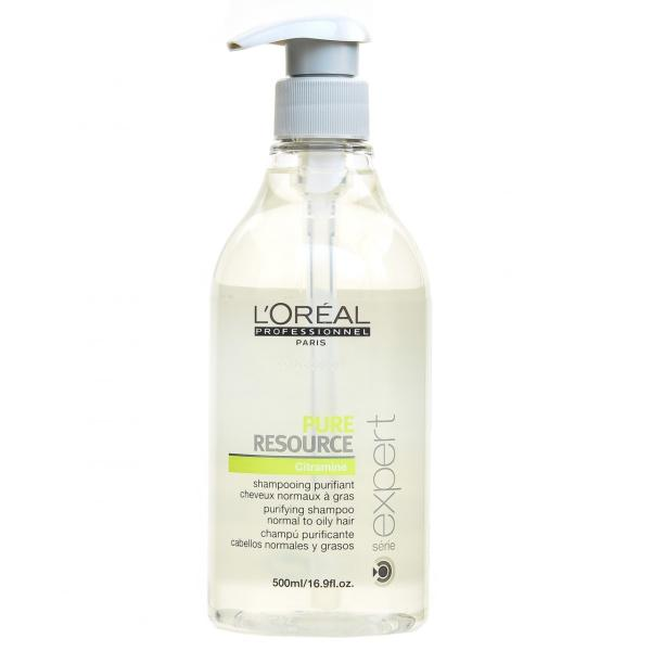 L'ORÉAL Professionnel Série Expert Pure Resource Shampoo with Citramine 500 ml