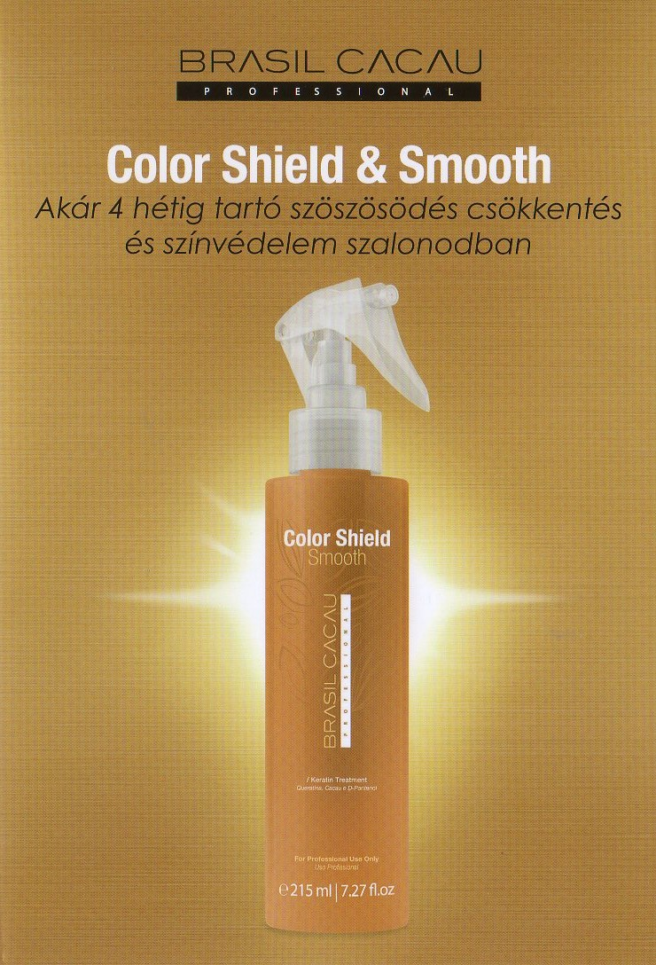 Brasil Cacau Color Shield & Smooth Keratin Treatment 215 ml