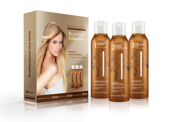 Brazilian ECO keratin szett 3 X 110 ml