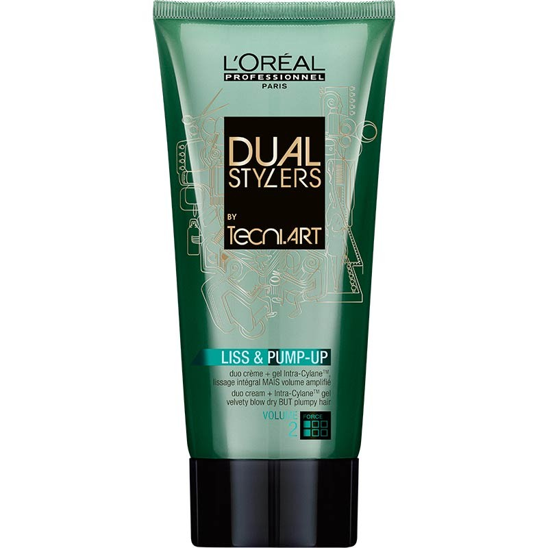 L'Oréal Professionnel Tecni Art Dual Stylers - Liss & Pump-Up 150 ml