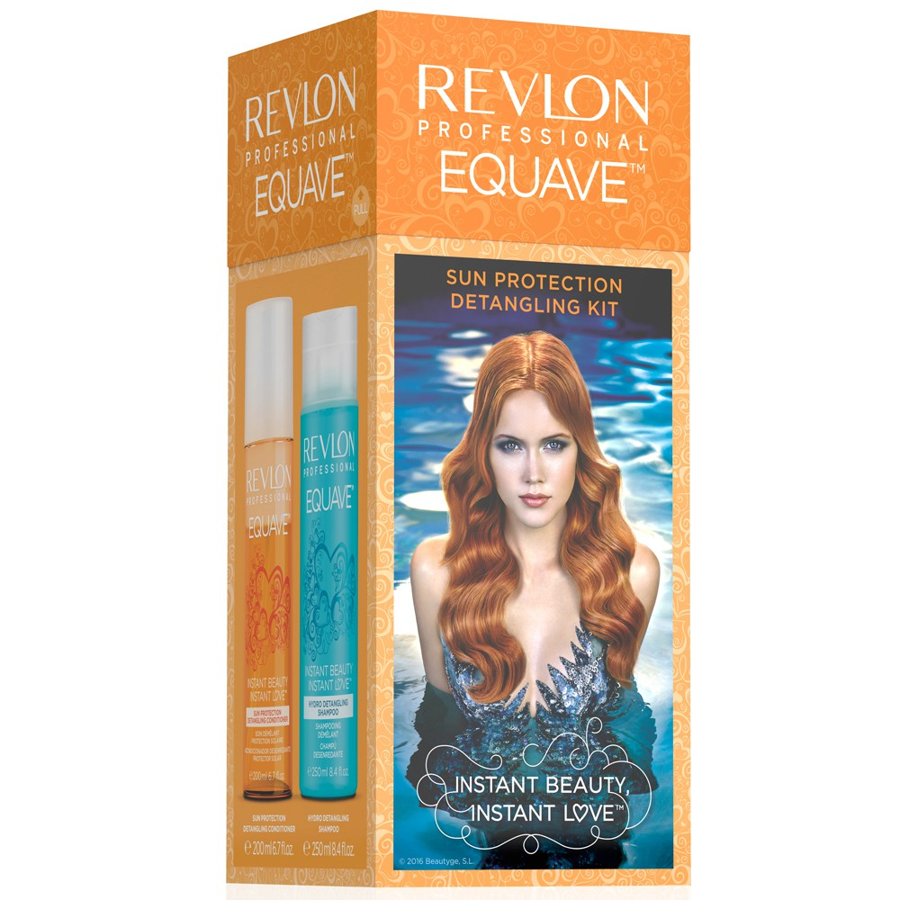 REVLON EQUAVE Sun Protection Detangling Szett (200 ml + 250 ml)