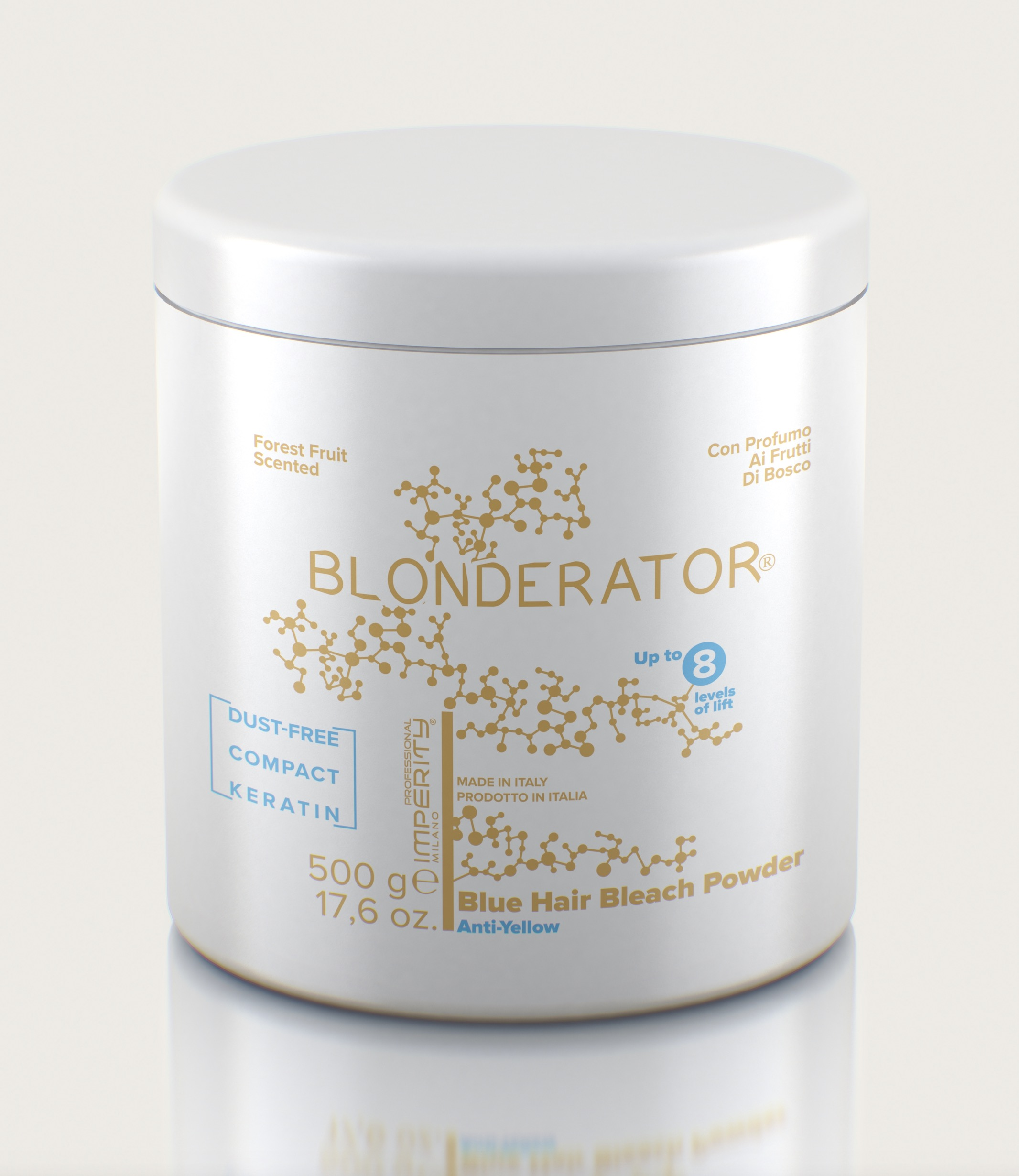IMPERITY Blonderator Blue Hair Bleach  Powder Keratin 500 g