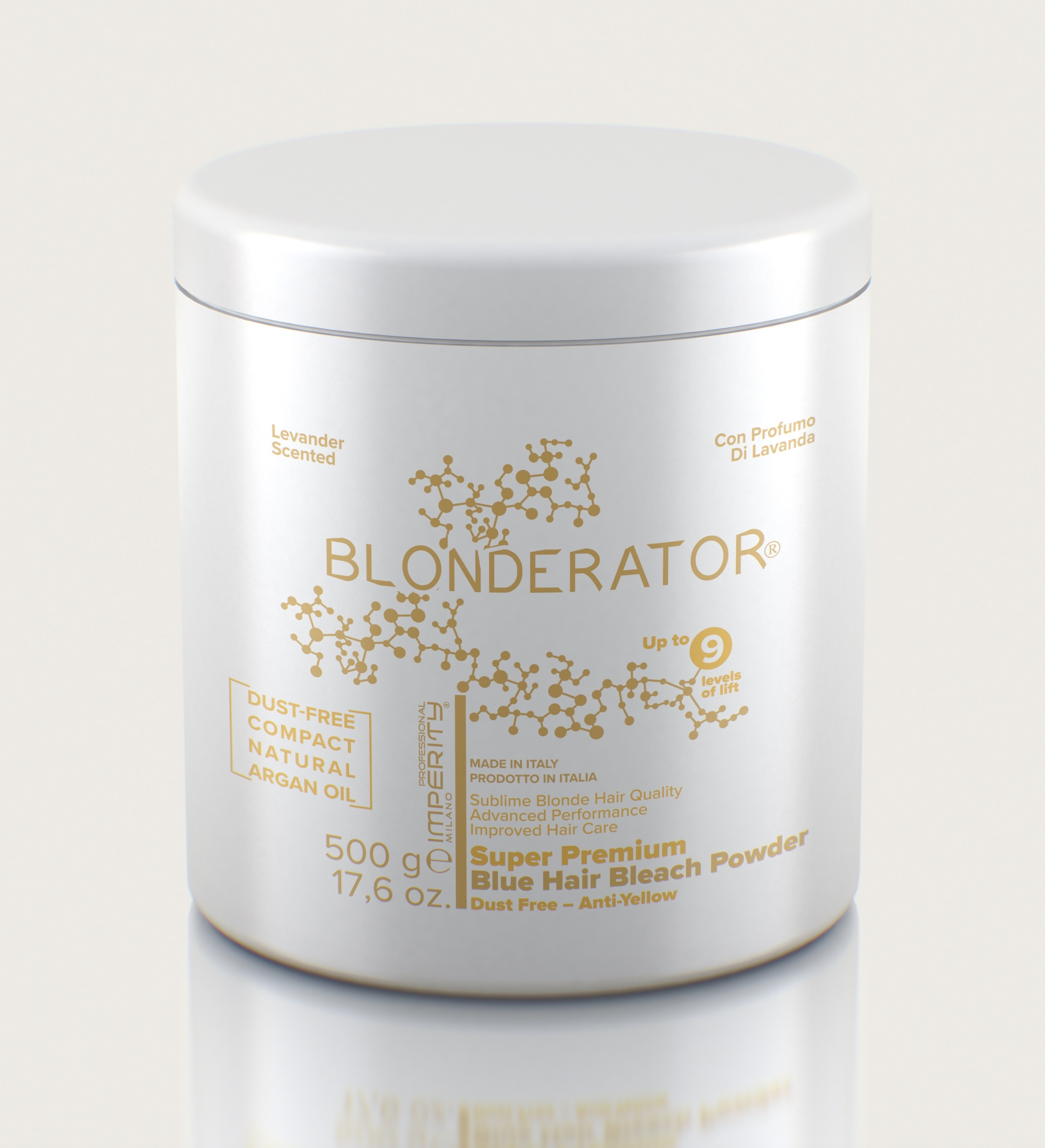 IMPERITY Blonderator Super Premium Blue Hair Bleach  Powder Argan Oil 500 g