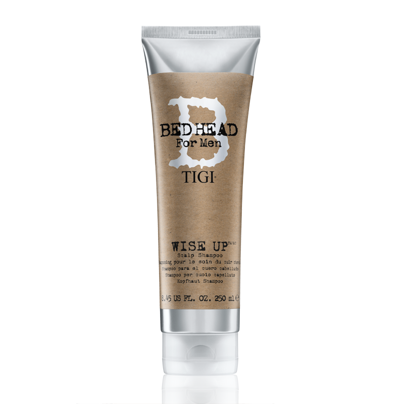 TIGI Bed Head for Men Wise Up sampon problémás fejbőrre 250 ml