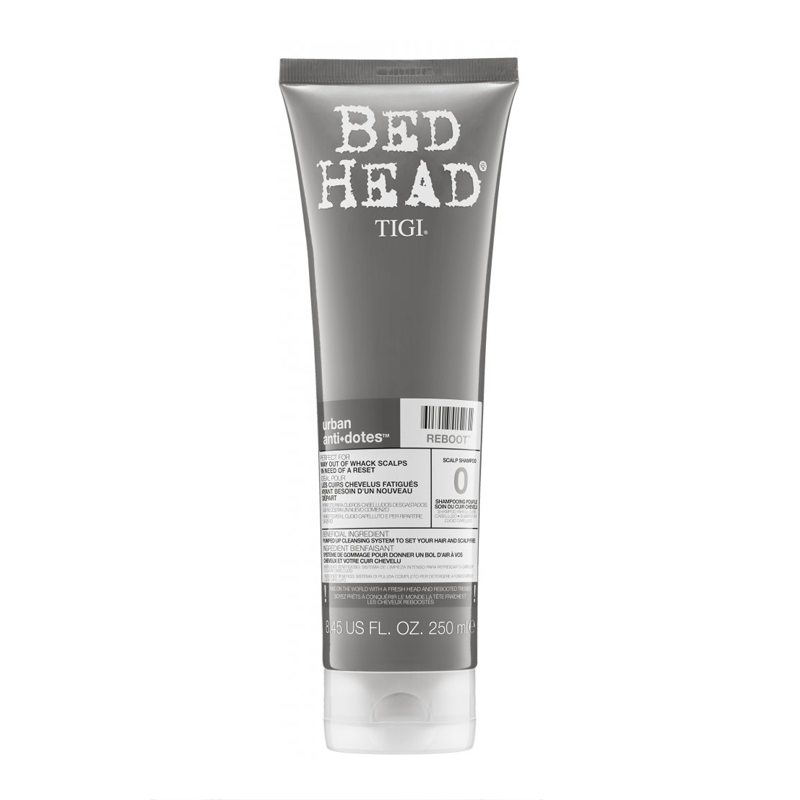Tigi Bed Head Urban Antidotes Reboot Shampoo - Gyógyhatású sampon 250 ml