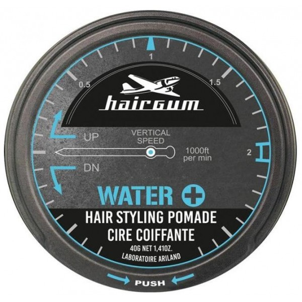 HAIRGUM Water+ Hair Styling Pomade 40 ml