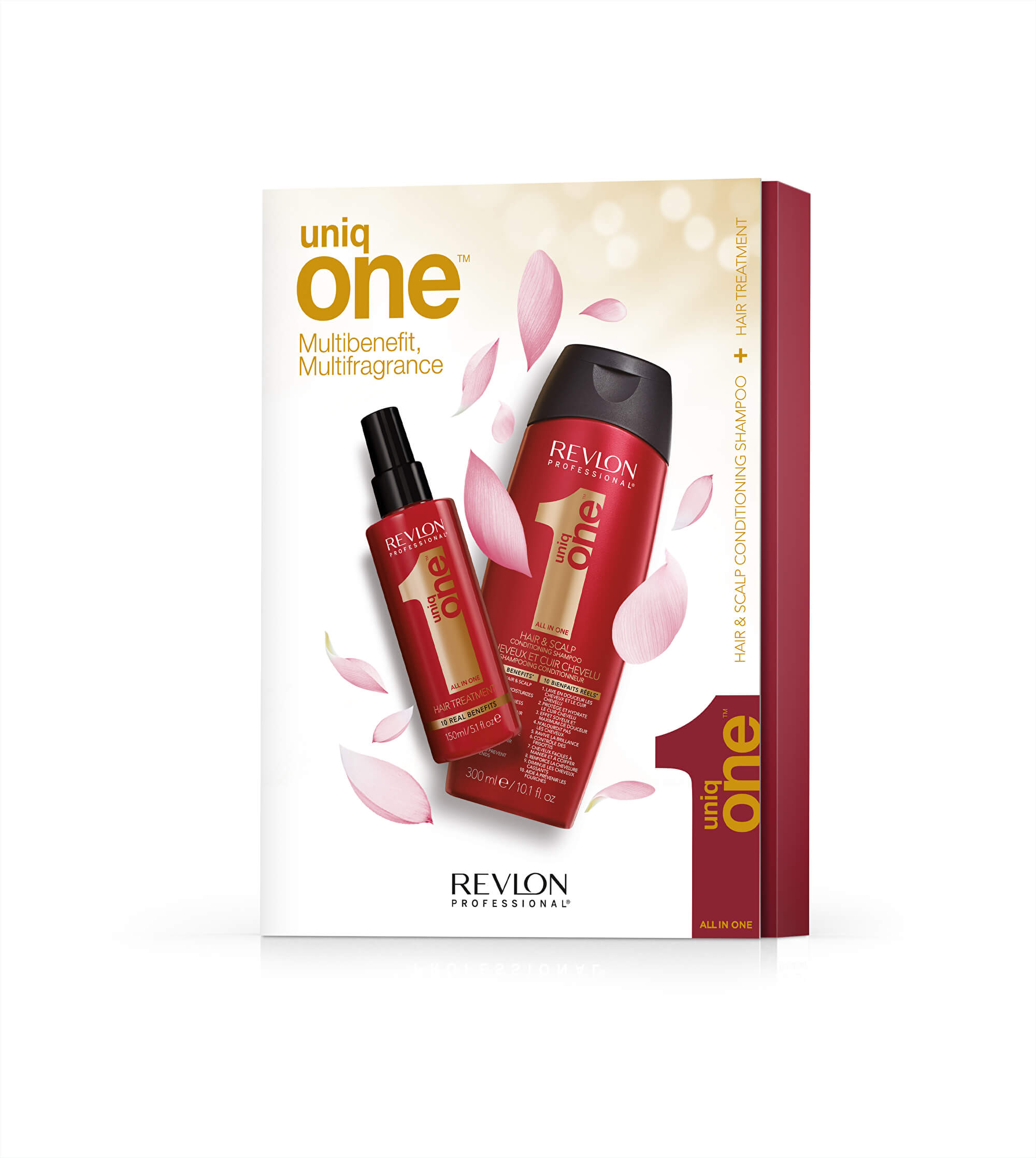 UNIQ ONE SZETT (Uniq One 150 ml + Uniq One Shampoo 300 ml)