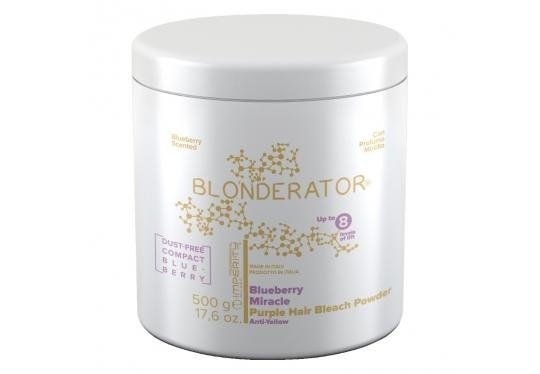 IMPERITY Blonderator Blueberry Miracle Purple Hair Bleach Powder 500 g empty 3392fd78a6