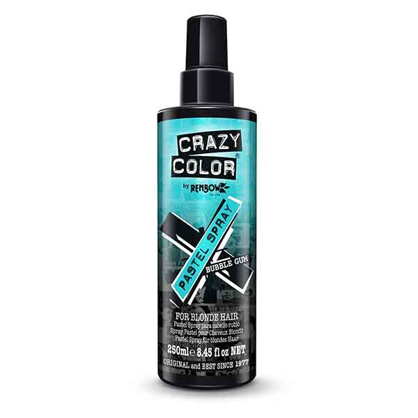 CRAZY COLOR Pastel Spray - Bubble Gum 250 ml