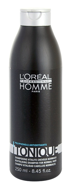 L'ORÉAL Professionnel Homme Tonique Revitalising Shampoo for Normal Hair 250 ml