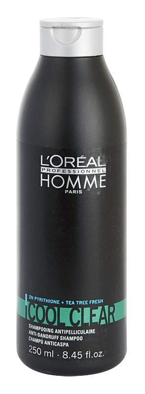 L'ORÉAL Professionnel Homme Cool Clear Anti-Dandruff Shampoo 250 ml