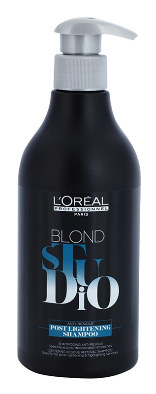 L'Oréal Professionnel Blond Studio Post Lightening Shampoo 500 ml