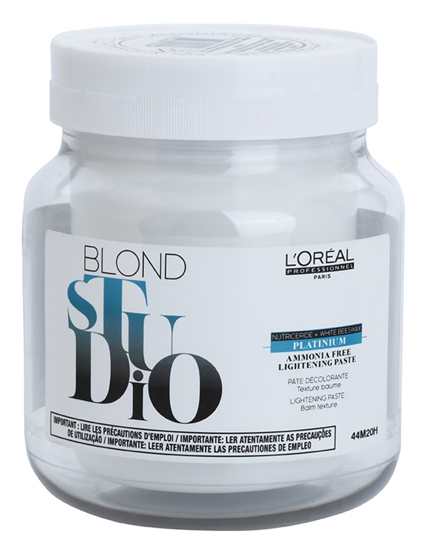 L'Oréal Professionnel Blond Studio Platinum Ammonia Free Lightening Paste 500 ml