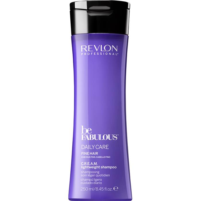 REVLON Be Fabulous C.R.E.A.M. Lightweight Shampoo 250 ml