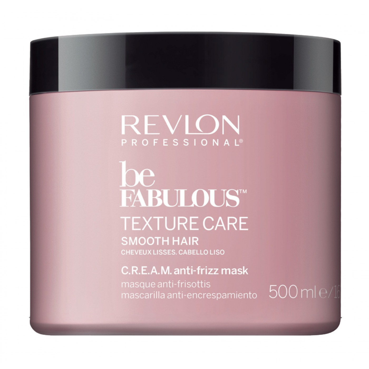 REVLON Be Fabulous C.R.E.A.M. Anti-Frizz Mask 500 ml