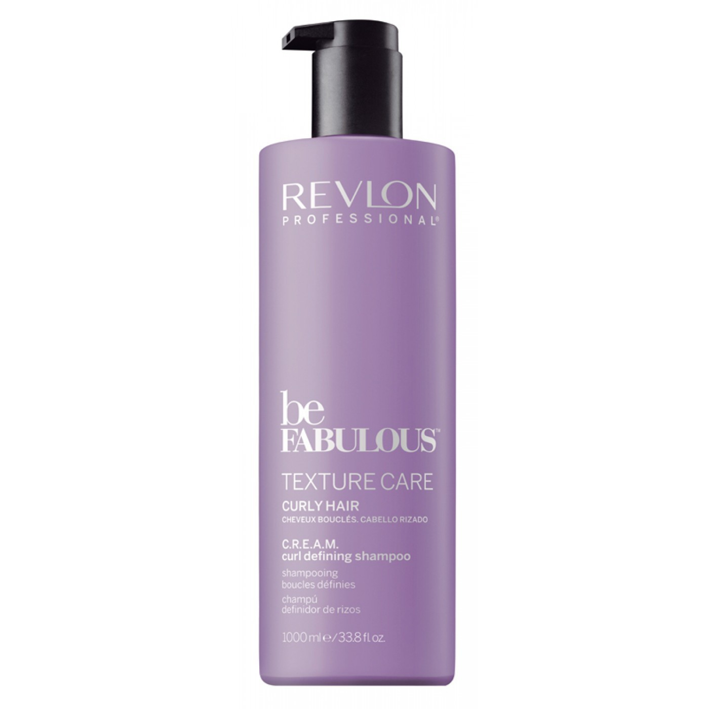 REVLON Be Fabulous C.R.E.A.M. Texture Care Shampoo 1000 ml