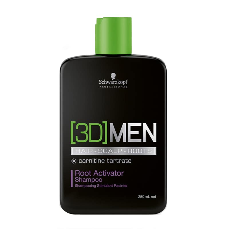 Schwarzkopf Professional [3D]MEN Root Activator Shampoo 250 ml