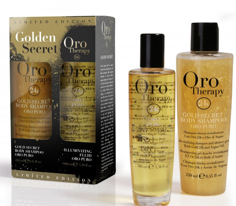 FANOLA Oro Therapy Golden Secret Limited Edition Set 250 ml + 100 ml