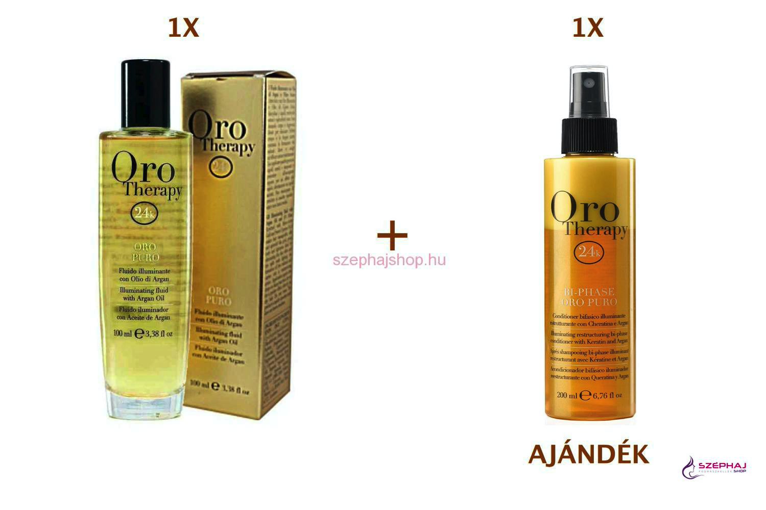 FANOLA ORO Therapy  Argan Oil 100 ml 1+1 AKCIÓ