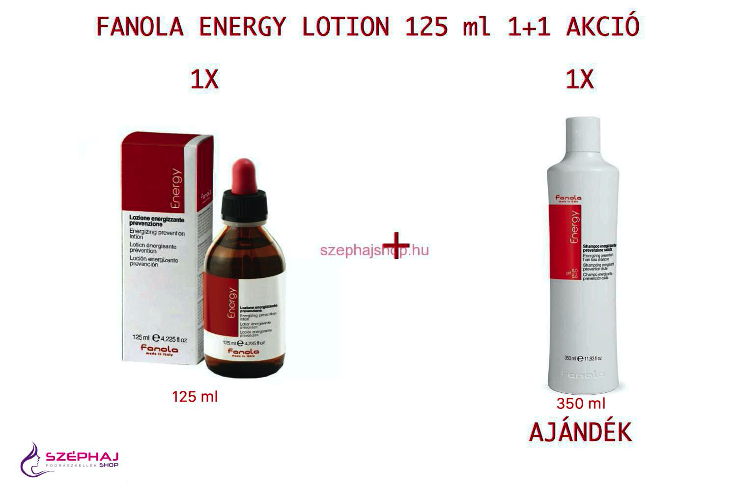 FANOLA Energy Lotion 125 ml 1+1 AKCIÓ