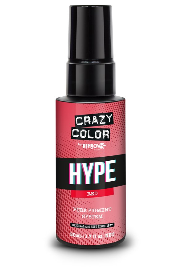 Crazy Color Hype Pure Pigment (Red) 50 ml