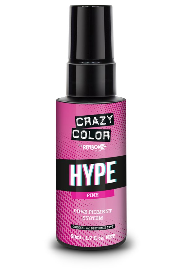 Crazy Color Hype Pure Pigment (Pink) 50 ml