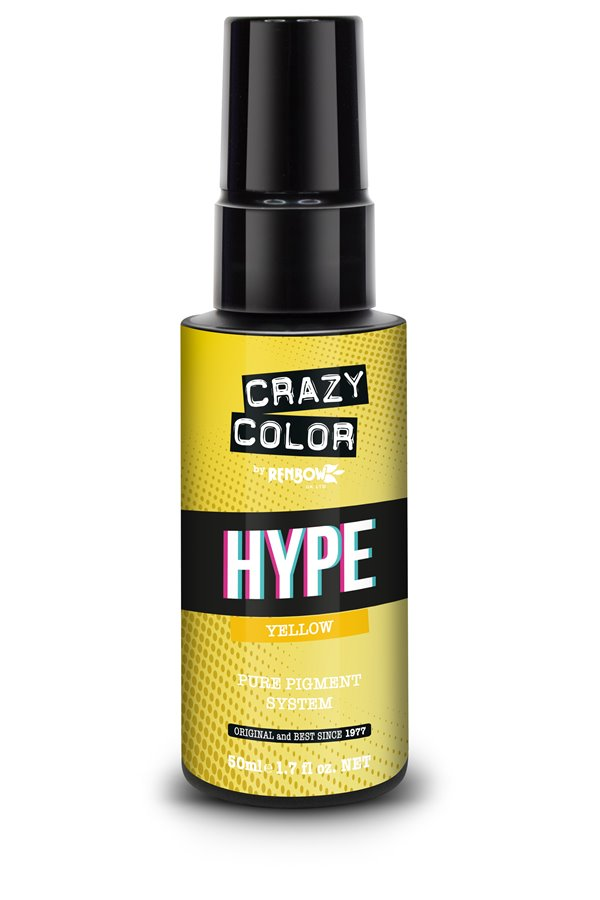 Crazy Color Hype Pure Pigment (Yellow) 50 ml